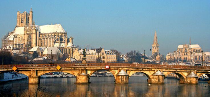 Super vue d'#Auxerre #Yonne #Bourgogne
