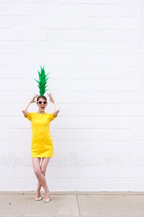 Pineapple costume!