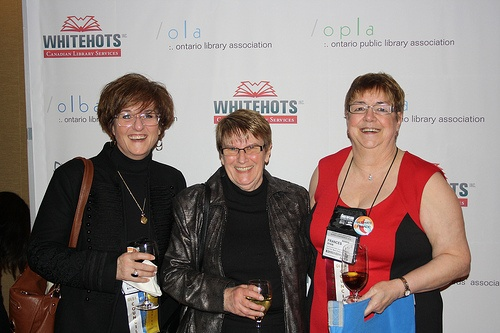 OLBA President Kim Vares, Joyce Cunningham and Frances Ryan