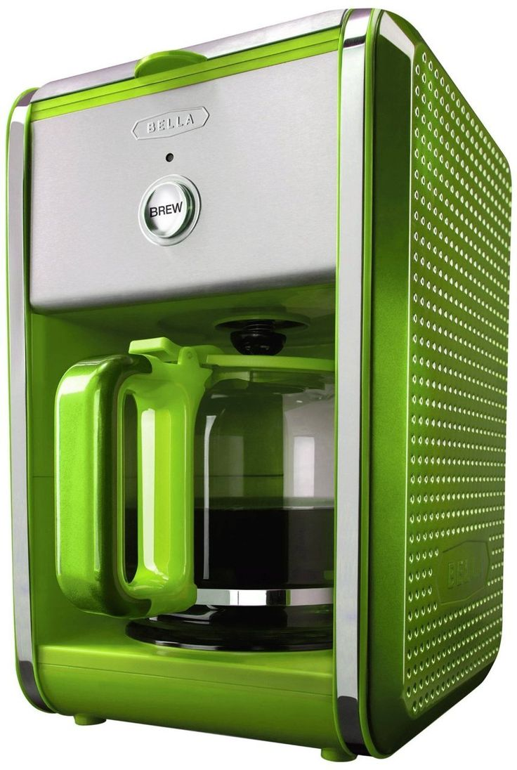 Bella dots collection 12cup coffee maker green 3995