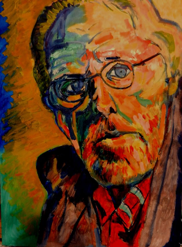 """A commissioned painting of Bruce Dern.  """"He loves the painting and it is about to go up in his den at home where he has many other meaningful mementos! Sorry for the long wait on the reply but we have both be traveling once again to make movies. Thank again so much and I will pass your sentiments along to Bruce. X""""  From Wendy G., Bruce Dern's business partner."""