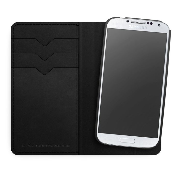 LAB.C Smart Wallet Case [Black], Futerał+etui 2w1 dla GALAXY S4