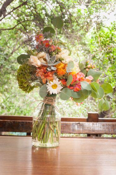 Ramo de novia rústico-organico. Diseño floral