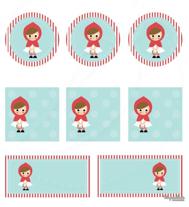 Festa Chapeuzinho Vermelho … já que hoje é meu aniversário!