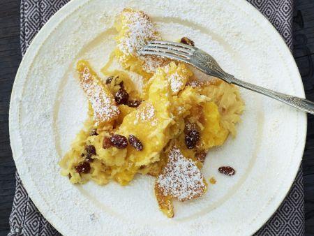 Süßer Polentagratin mit Apfel und Rosine