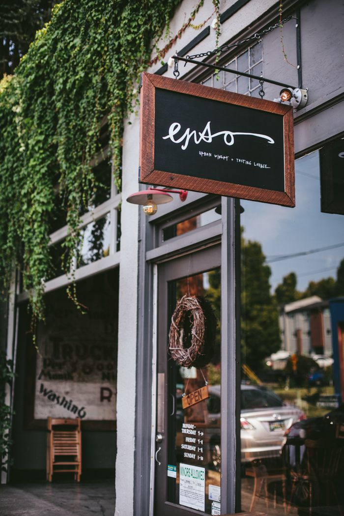 We love Enso, a hip SE neighborhood wine bar with a rustic feel. Check out more about Enso and other places to sip in Portland Sipping Guide by Ev Kosmas Flores.