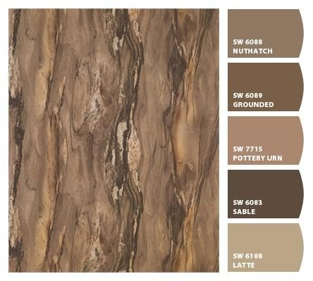 Formica 180fx® Dolce Macchiato with the best paint pairings from Sherwin-Williams