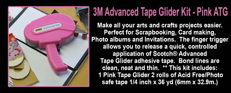 Try using our 3M Advanced Tape Glider Kit, Perfect for Arts and Crafts. Go to our website and get your today.. www.directa.co.uk