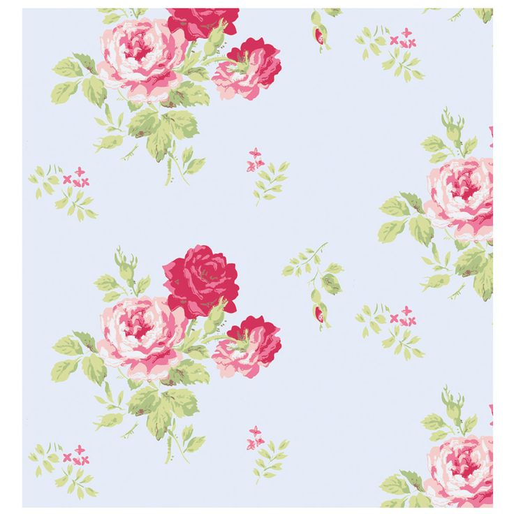 Wallpaper | Antique Rose Bouquet Wallpaper | CathKidston