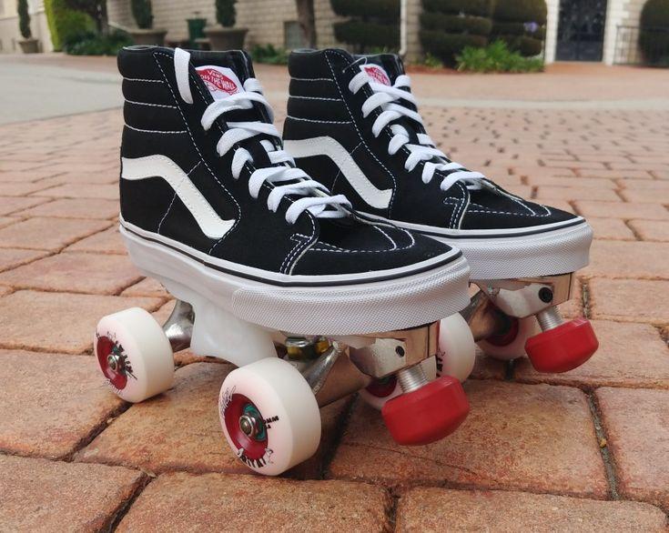 Custom Vans Skate Park Roller Skates $699 Complete with Vans Sk8Hi ...