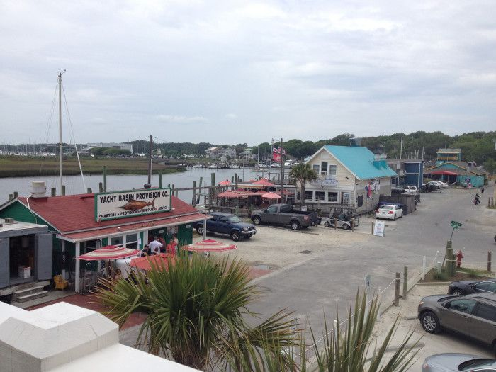 Town of Southport, NC.  Where the movie Safe Haven was filmed