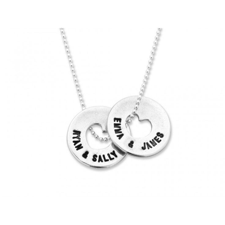 Handmade Personalised Round Necklace $269 (AUD) | FREE Delivery