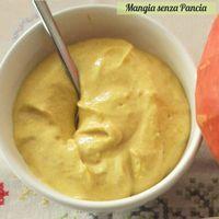 Crema di zucca e formaggio spalmabile
