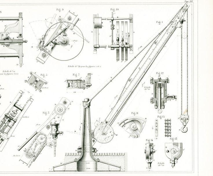 gravure ancienne brevet armengaud publication industrielle technique paris ingnieur bitrix