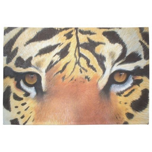 Tiger Dish Towel #kitchenstuff #tiger