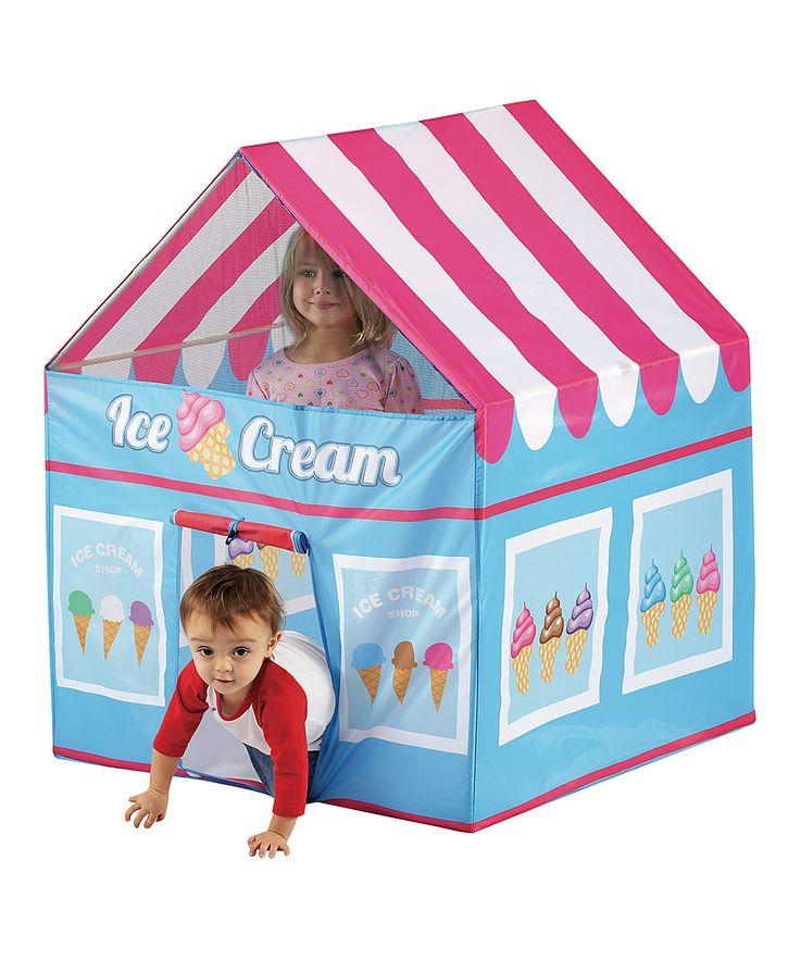 Ice cream shop tent casitas de tela y m s pinterest casitas y tela - Casitas de tela para ninos toysrus ...