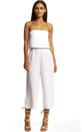Relaxed Bandeau Jumpsuit - SilkFred
