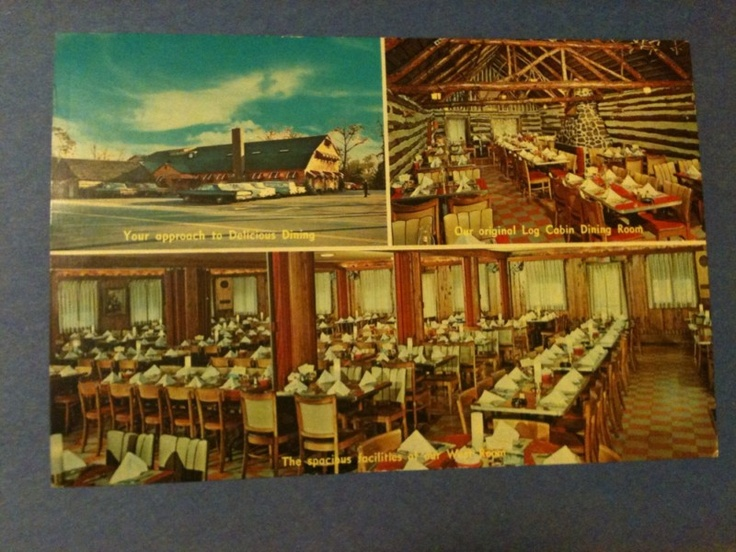 Vintage 1950s Bronco Charlie's Restaurant Long Island NY: Long Island, Photo
