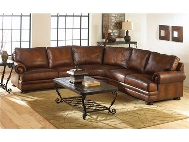 Shop For Bernhardt Foster Leather Sectional, G51817, And Other Living Room  Sectionals At Kittleu0027s