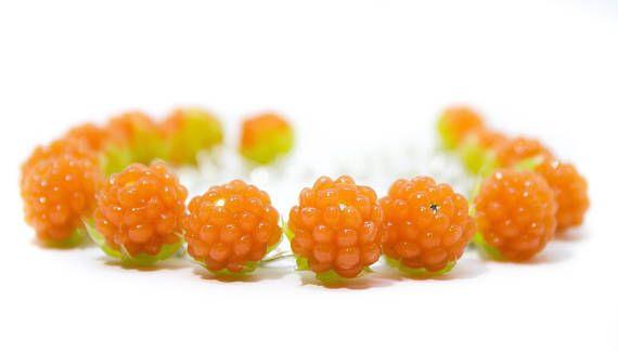 Сloudberry bracelet Berry bracelet  Fruit bracelet  Bright