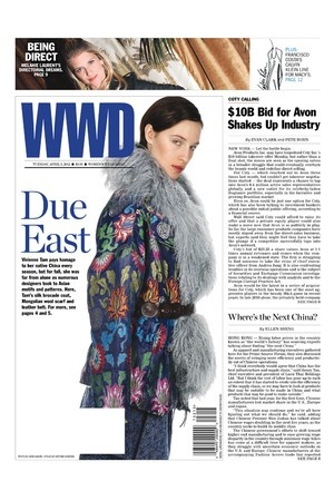 Scales Cuff and Dragon Choker in WWD Tuesday April 3rd 2012