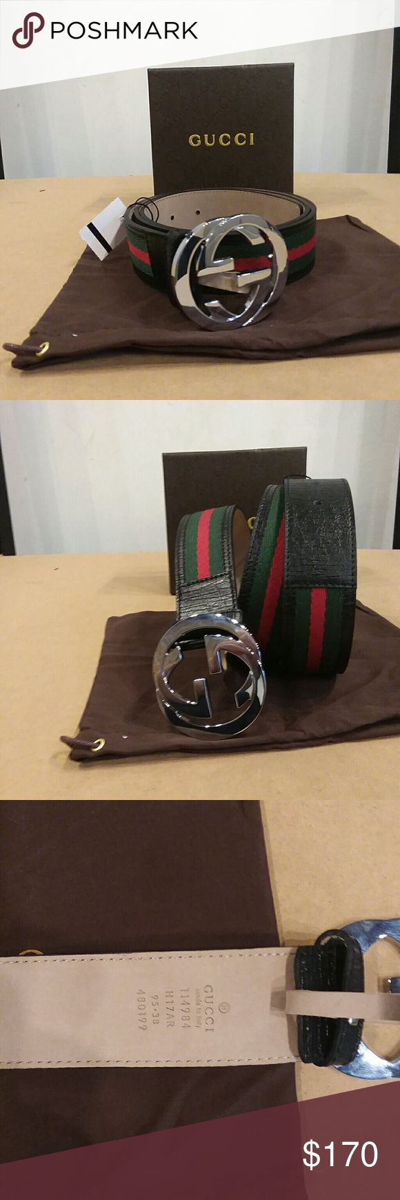 NET Gucci awesome belt This new Gucci belt is great for all occasions 100 authentic or money back guarantee Unisex. Brand new Comes with the box, tags and dust bag Gucci Accessories Belts