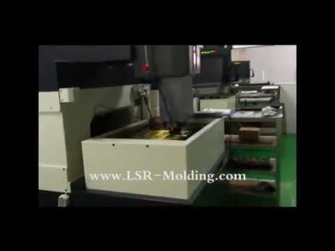 LSR Injection Mold Making Electrode Process | LSR Molding