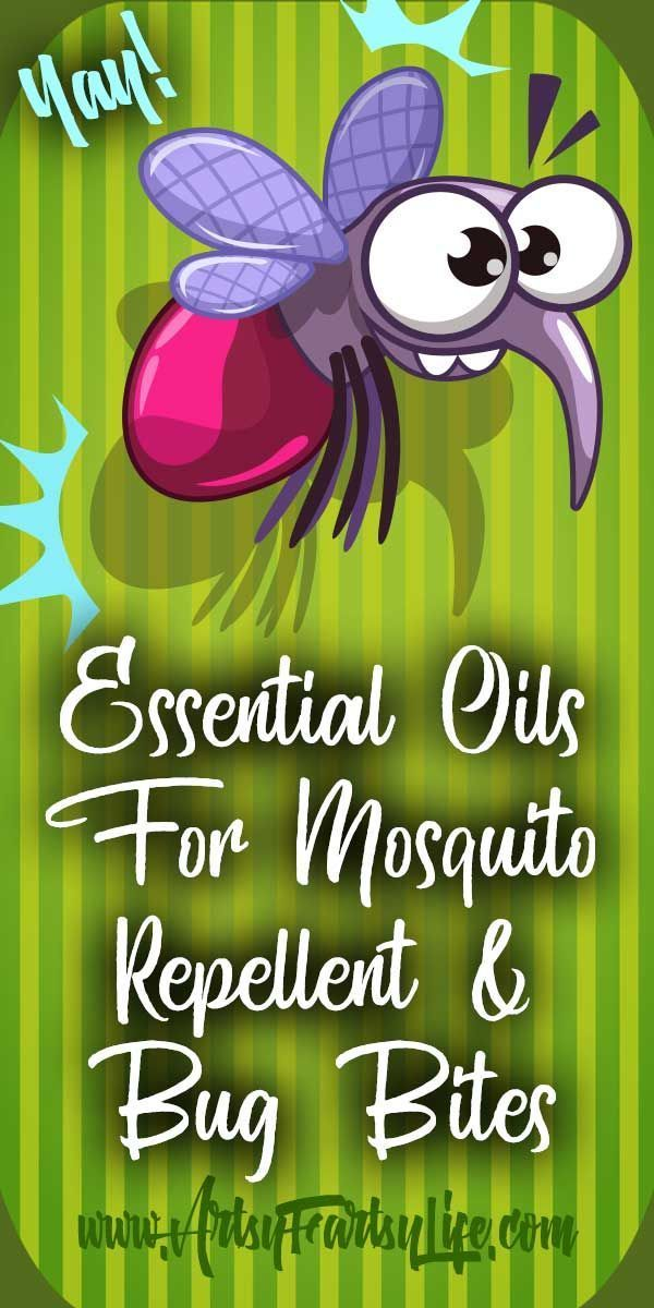 Essential Oils For Mosquito Repellent and Bug Bites (With