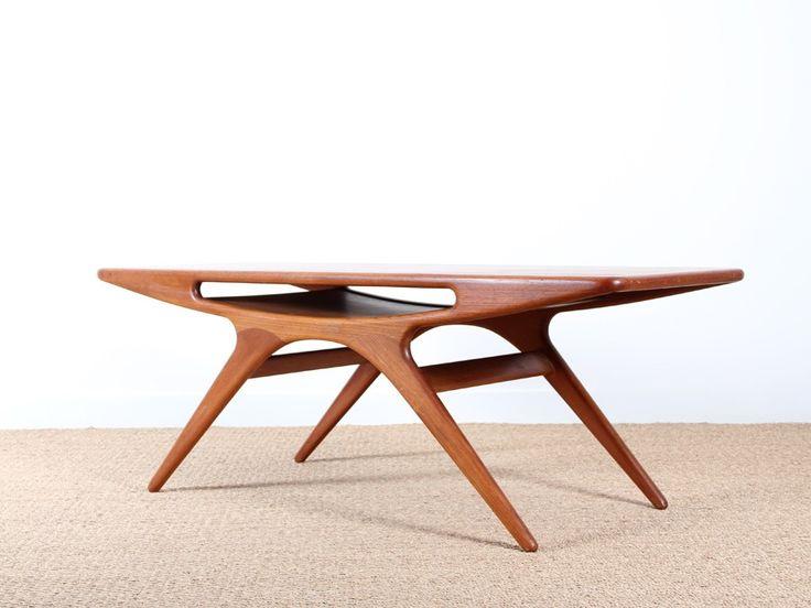 Table basse teck exterieur for Exterieur scandinave