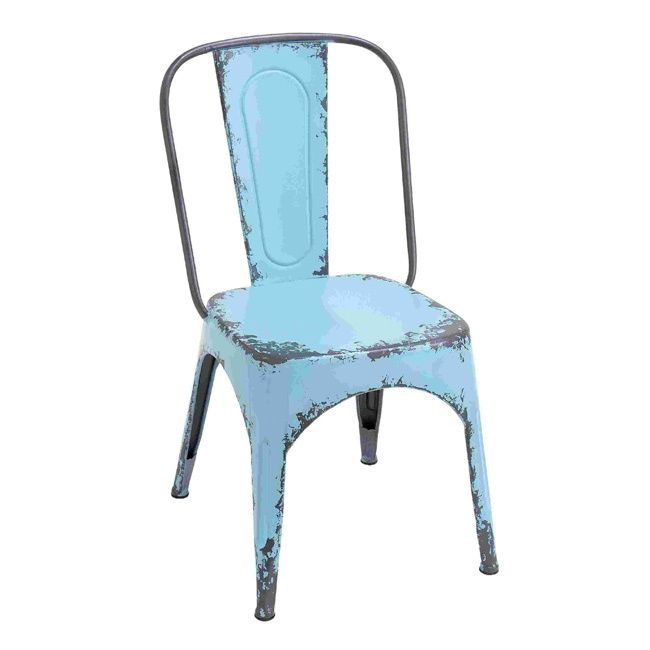 Blue Metal Dining Chairs 69 best furniture images on pinterest | dining chair set, side