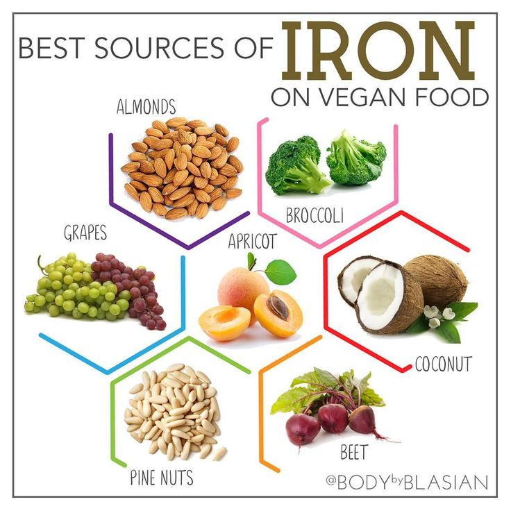 There are a lot of ironrich foods and mostly are vegan