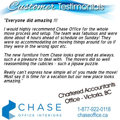 At Chase, our team's presence on every job site ensures the job runs smooth, and that we are delivering to the expectations of the client. Here's a GREAT testimonial from one of our awesome clients!