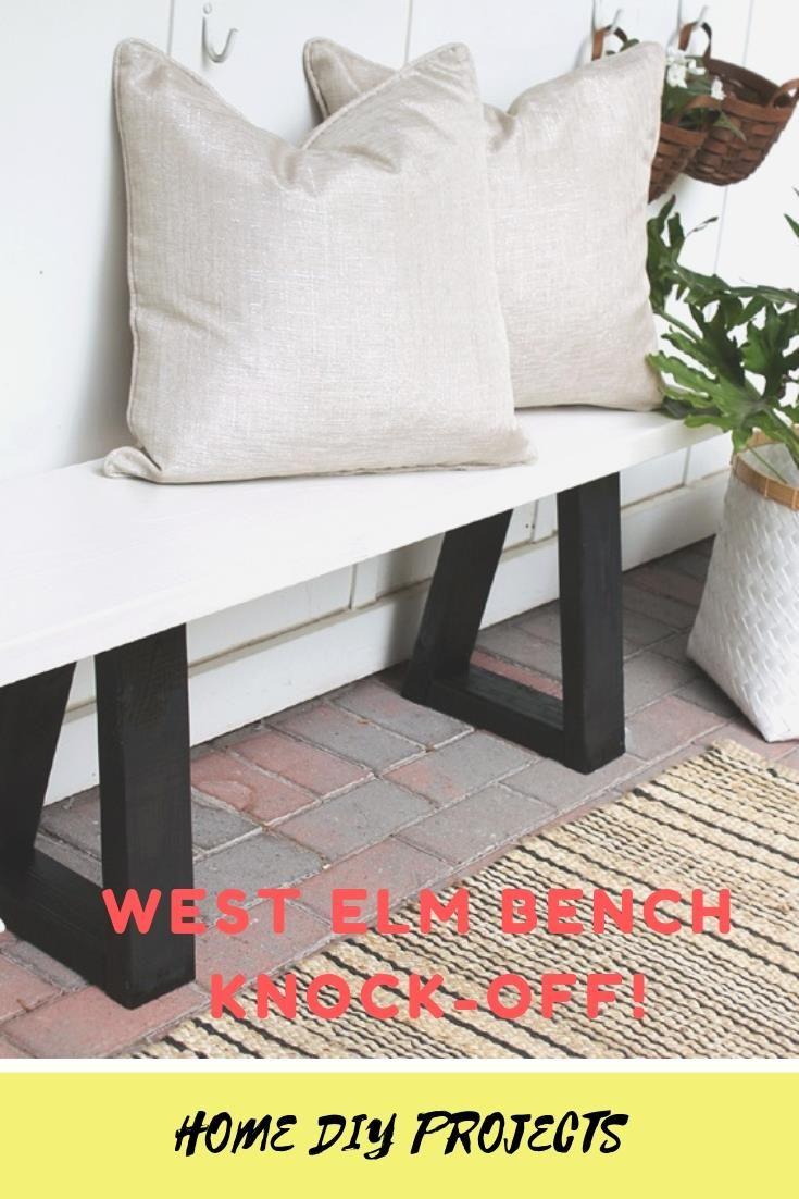 Materials: 2x4x92 studs (1 per bench) Treated lumber