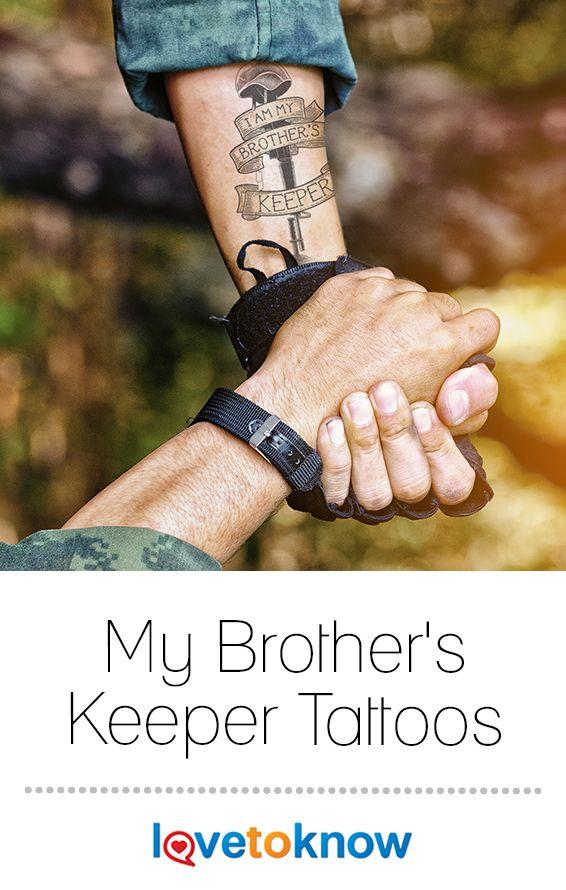 My Brothers Keeper Tattoos Tattoos Tattoo Designs Cultural