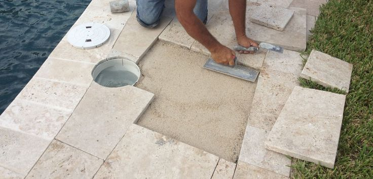 All information you need about Travertine Paver Pool Deck design ideas, costs and installation. Let's have a look on some cool travertine pavers.
