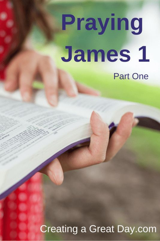Praying James through the eyes of Jesus' brother is powerful!