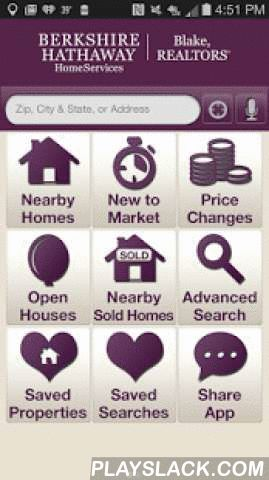 BHHS Blake Mobile Real Estate  Android App - playslack.com ,  Berkshire Hathaway HomeServices Blake, Realtors Mobile App brings the most accurate and up-to-date real estate information right to your phone! With BHHS Blake Mobile Real Estate, you have access to all area homes for sale and MLS listings throughout New York's Capital Region, North Country & beyond. Use BHHS Blake Mobile Real Estate anytime, anywhere to pull up homes for sale around you using the GPS search, or find homes…