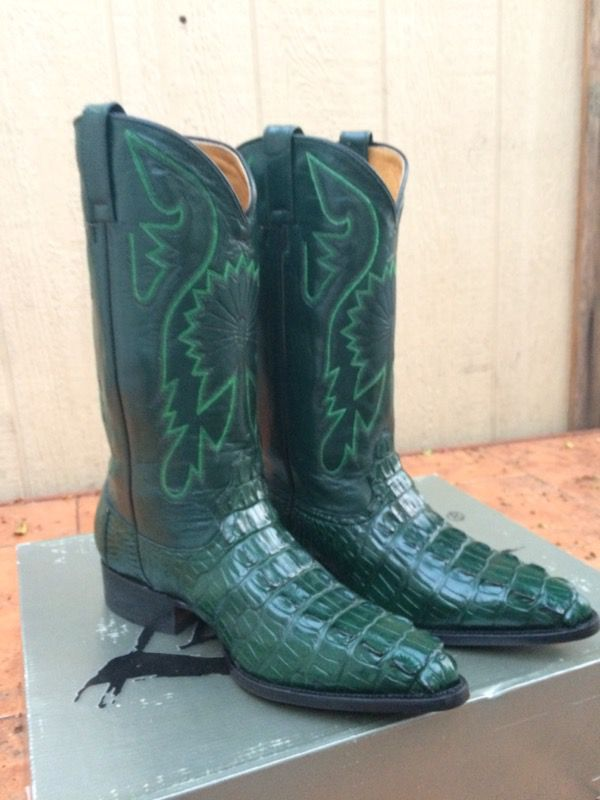 Offer Up Los Angeles >> Green Alligator Cowboy Boots For Sale In Los Angeles Ca Amazing