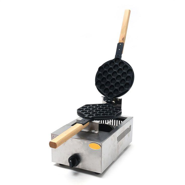 1.1 KW QQ Egg Maker Puffle Waffle Maker Oven Waffle Eggettes Baker Machine Tool