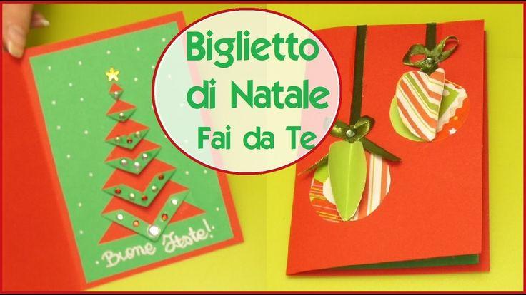 BIGLIETTO DI NATALE Fai da Te ft. Fairy Fashion Art - DIY XMAS CARD