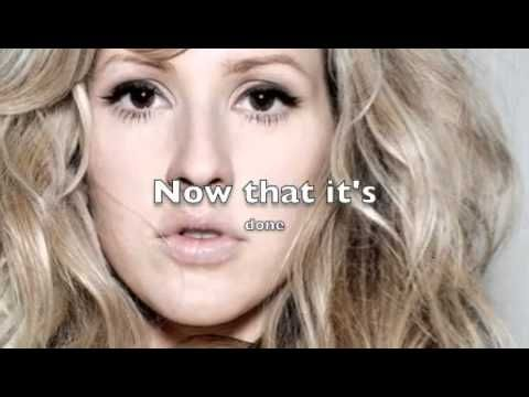 Presley 1 year video - Ellie Goulding - Your Song (Lyrics On Screen)