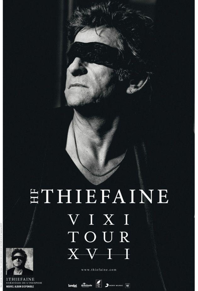 Hubert-Félix Thiéfaine fait la promotion de son dernier album le mercredi 14 octobre 2015. (D.R.)