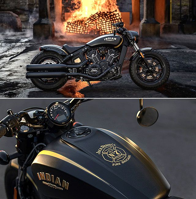Jack Daniel S Limited Edition Indian Scout Bobber