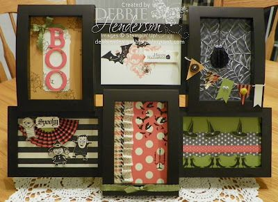 stampin up halloween by debbie henderson at debbies designs halloween frame - Stampin Up Halloween Ideas