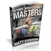 Sample Masters Weightlifting Training Program by Greg Everett - Olympic Weightlifting - Catalyst Athletics - Olympic Weightlifting