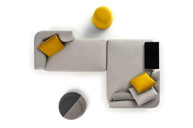 Cosy. Modern modular sofas and coffee tables. MDF Italia