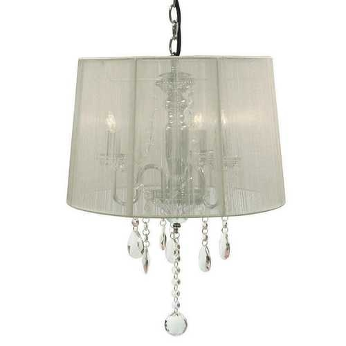 creative creations lighting. Modren Creations Creative Creations Chandeliers With Shades By CreationsRovello  Collection White Shade Finish 3 Light Crystal Chandelier Inside Lighting N