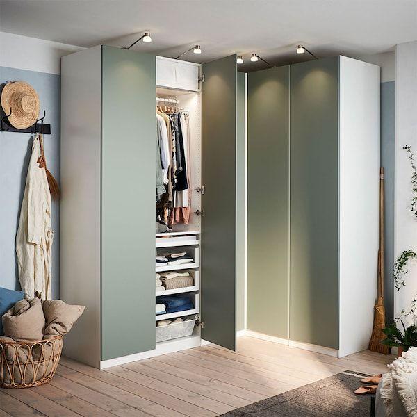 Rangement Ikea En 2020 Ikea Meuble D Angle Ikea Armoire Chambre
