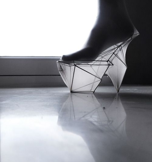 Transparence Chaussure