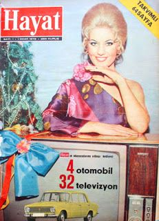 Emel Sayın 1972 hayat dergisi